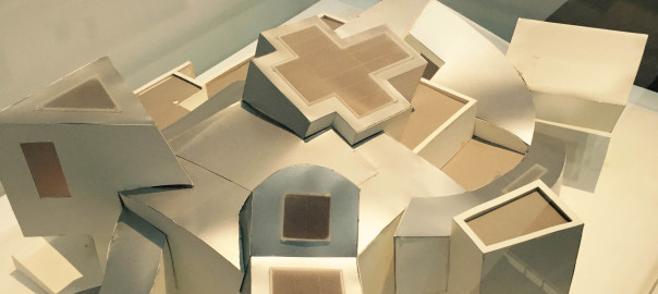 Model of Vita Design Museum by Frank Gehry