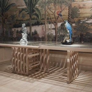 Maison et Objet new Maze table by Autoban for De La Espada
