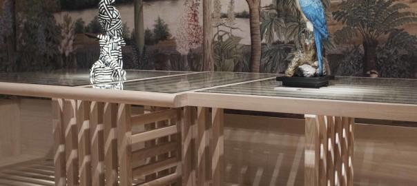 Maison et Objet new Maze table by Autoban for De La Espada