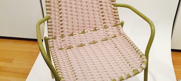 Scholten & Baijings chair for Moustache Design Museum