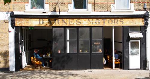 exterior of Primeur restaurant London