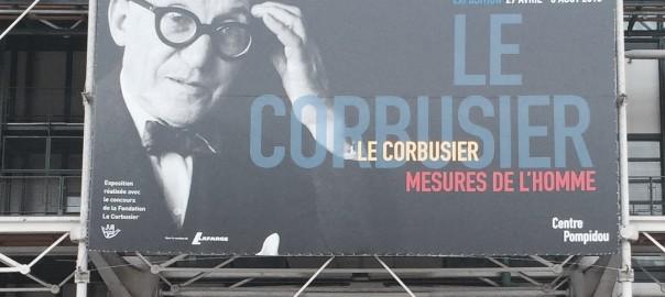 Le Corbusier at Centre Pompidou