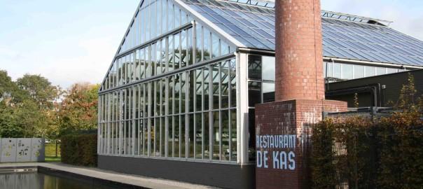 exterior view of De Kas Amsterdam