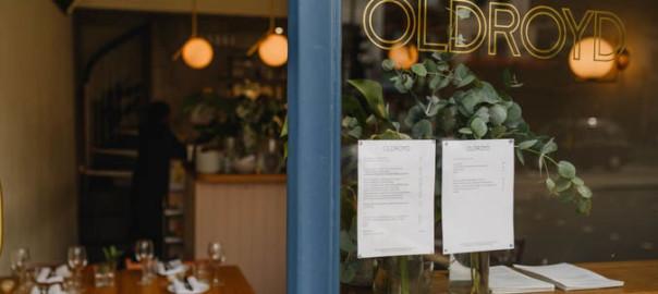 image of outside of Oldroyd restaurant on Upper Street London