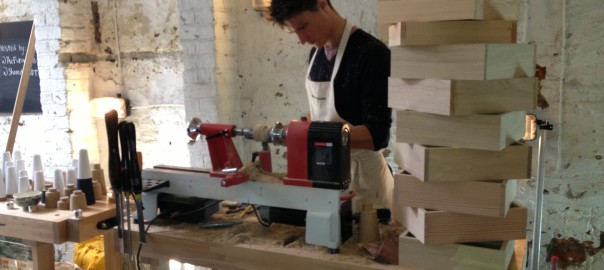 Benchmark crafsmn at work at the Factory for LDF