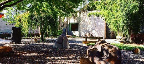 Garden of Noguchi Museum