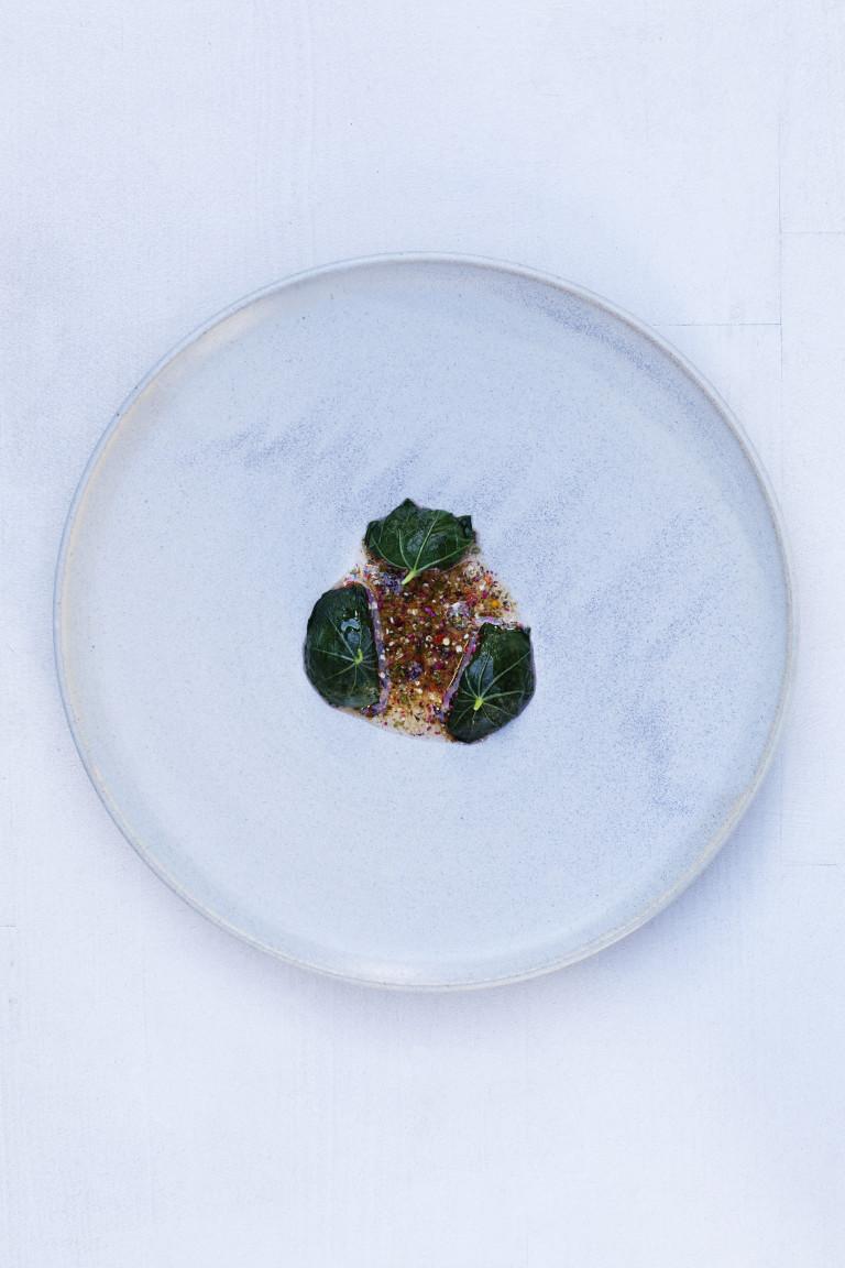 Dish from Kadeau Copenhagen