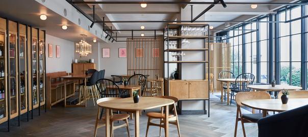 Dinesen floor in Kadeau Restaurant