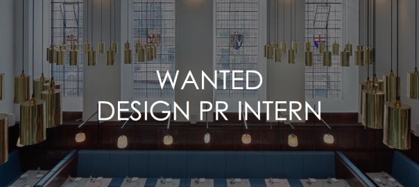 Design Internship at Tomorrow TOMORROW PR
